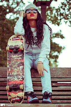 .. Swag chick Pretty Girl Swag Aye!