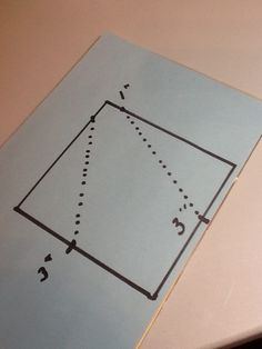 Pattern for fold and stitch table wreather
