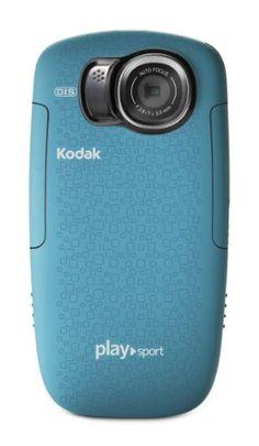 SPORT CAMERA - Kodak PlaySport (Zx5) HD Waterproof Pocket Video Camera - Aqua (2nd Generation) from Kodak $92.99