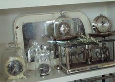 clocks under cloches