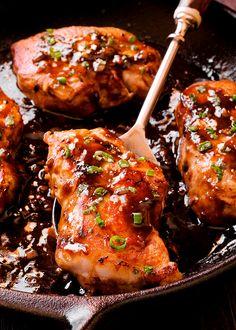 Honey Balsamic Pork Chops