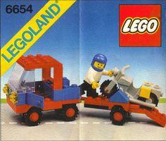 6654-1: Motorcycle Transport | Brickset: LEGO set guide and database