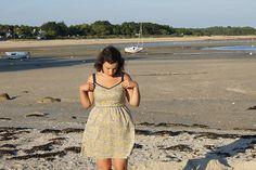 Laurel à la plage