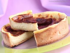 Flan patissier. 2 egg holks for french flan pastry recipe