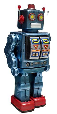 Strijkapplicatie Robbie robot