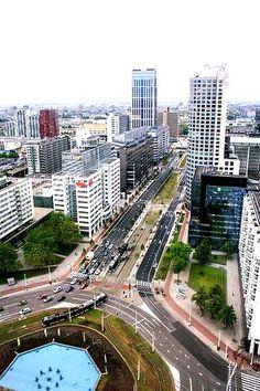 Rotterdam - hofplein vanaf hofpoort