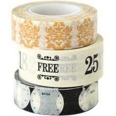 Washi Tape from Teresa Collins: great for paper crafts, gift wrapping and so much more!