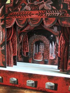 / toy theatres and puppets / clive hicks-jenkins / artlog /