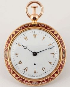 The Breguet ~ 1808, created by order of the heir to the Ottoman Empire.