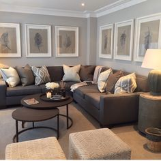 47 best decorating with brown sofa images diy ideas for homepaint colour with large white frames sophie paterson interiors uk art work alicia phillips interiors · decorating with brown sofa