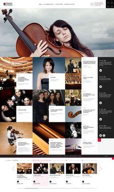 para cornetas peñafiel / coral cotarra: Web design inspiration
