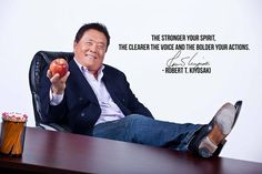 #business #success Rich Dad Poor Dad, Philosophy Quotes, Dad Quotes, Real Estate Business, Robert Kiyosaki, Business Opportunities, Business Planning, Self Improvement, The Voice