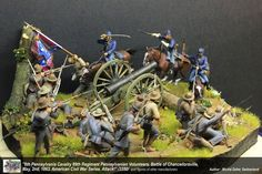 Michigan Toy Soldier Company Fine Toy Soldiers and Military Miniatures - The American Civil War in Plastic Model Kits, Plastic Models, Diorama Militar, Tabletop, Plastic Toy Soldiers, Civil War Art, Civil War Photos, Military Diorama, Miniature Figurines