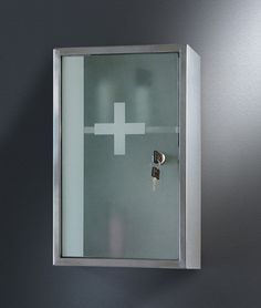 Simple Medicine Cabinet Design With Key And Gl Http Lanewstalk