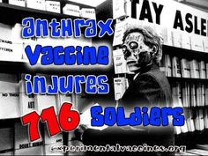 Government Admits Anthrax Vaccine is Poison - YouTube