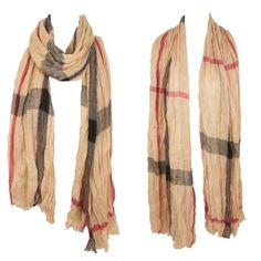 Brit scarf Beautiful iconic scarf with a rustic feel. 76L x 36W 65% polyester 35% cotton. Accessorize any outfit. Message me and I will create your own listing Lewboutiquetwo Accessories Scarves & Wraps