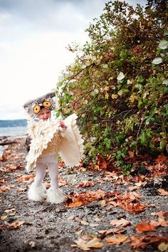 little girl owl costume