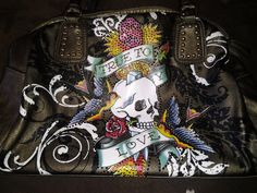 Ed Hardy Large Purse