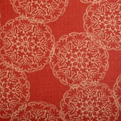 print collection from @John Robshaw Textiles for duralee #fabric #linen #red
