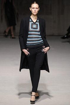 Christopher Kane's homage to the granny.  I'd wear this outfit