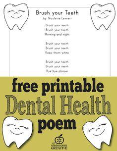 FREE printable denta
