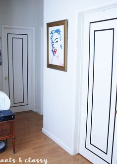 Rental Friendly DIY Door Decor with Washi Tape