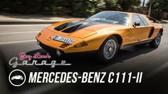 Constantin von Kageneck from the Mercedes-Benz Classic Center takes Jay under the hood of his dream car, the rare Wankel-engined, '70s supersports C111. » Su...