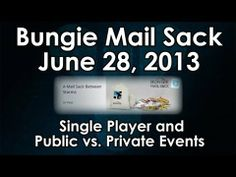 [16] Destiny News: Single Player and Public vs. Private Events (Bungie Mailsack 6/28)