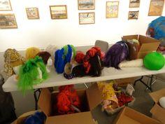 Matthews wig selection backstage