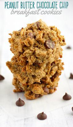 Easy to make breakfast cookies that are gluten free and vegan! One bowl recipe. #vegan #glutenfree