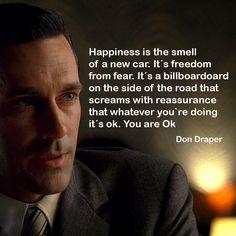 Mad Men Mad men quote Don Draper
