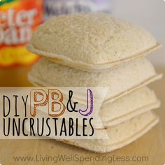 DIY Copycat Uncrustables | How to Make Homemade Uncrustables