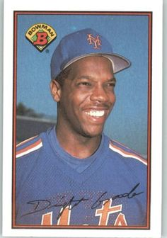 1989 Bowman #376 Dwight Gooden - New York Mets (Baseball Cards) by Bowman. $0.88. 1989 Bowman #376 Dwight Gooden - New York Mets (Baseball Cards)