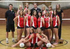 Volleyball team picture