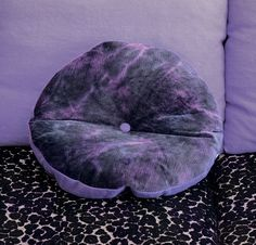 Designers Guild AW13 Roncioni cushion with a moody deep purple a violet