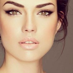 Make up. I like the eyes and cheeks. Would want a little lip color, just a few shades darker than my natural lip.