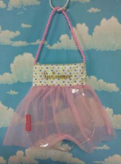 Pearly Star Tulle Handbag in Pink from SWIMMER - Lolita Desu