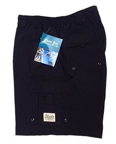 Dinamit Golden Mens Plaid Cargo Shorts Blue 36 *** To view further for this item, visit the image link.
