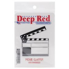 Bald Eagle Deep Red Stamps Deep Red Cling Stamp 3x3