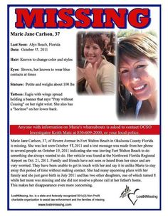 Have you seen her? Missing from Alys Beach, Florida.