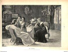 """Bücher, Zeitschriften, Comics - Ein """"Lacherfolg"""" (L.Fisch-Brunningen) /Druck , entnommen aus Zeitschrift/1896"""