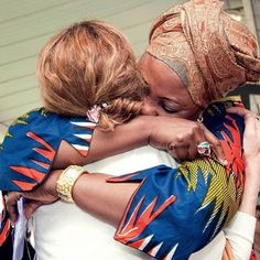 No difference between nations, just warm sister-hugs; wich we all need so badly in this last moments of this old system!