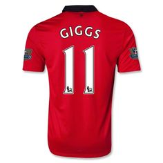 ae630bac87b 13-14 Manchester United  11 GIGGS Home Jersey Shirt Manchester United Club