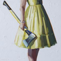 """it used to be """"walk softly and carry a big stick"""". this says to me """"look great and carry a sharp axe""""....."""