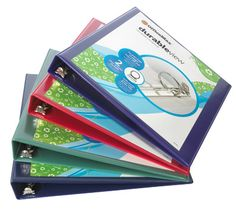 """BOGO DEAL! OfficeMax Durable View Binders with Round Ring 1"""""""