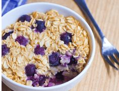 Blueberry Baked Oatmeal Mug Cake – a filling & nutritious breakfast, bursting with blueberries! Packed with wholesome oats, sweet blueberries, and just a hint of vanilla, this single-serving breakfast mug cake tastes like eating dessert for breakfast. You can also opt to switch things up and eat it later in the day as a filling...View The Recipe »