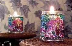 Beaded Shelton Lily Candle Holder Pattern and Kit. (Click on the picture to see this item on our website). $17.95