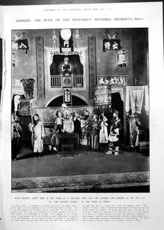 Print Yellow Jacket Play Chinese John Pierpont Morgan Financier 1913 1087RP242
