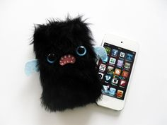BLACKIE - Kawaii iPhone or iPod Touch case AHHHHHH SO CUTE