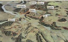 Una bella mappa per comprendere quale è, davvero, la geologia del suolo di #Roma ! In primo piano, ecco i famosissimi sette colli: Palatino, Campidoglio... - Gianluca Pica - Google+